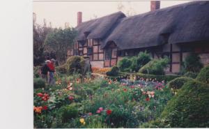 William Shakespeare's cottage in Stratford-on-Avon