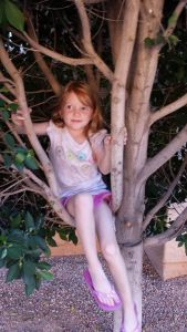 Granddaughter in a tree